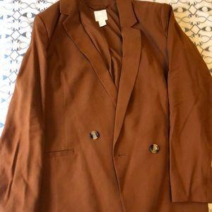 H & M Burnt Orange blazer